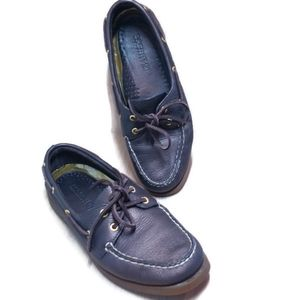 Sperry Top Sider Non Marking Leather Boat Shoes